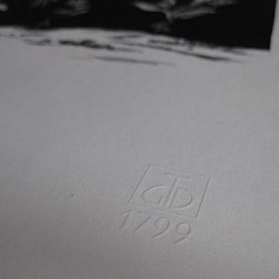 "Timo Ketola ""Ololiuhqui Resonation"" Lithographs, edition of 80"