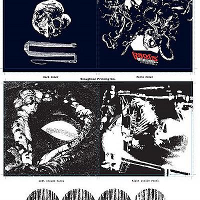 Absolutego & Amplifier Worship vinyl designs