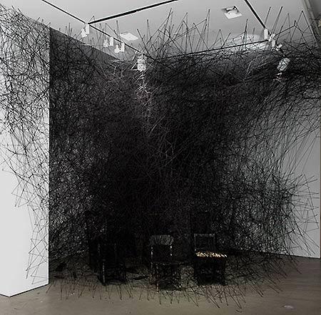 Chiharu Shiota @ La Maison Rouge & MOMA FOMA