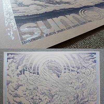 """Simon Fowler's Sunn O))) """"Oskorei"""" Roadburn 2011 Prints available for mailorder from the artist"""