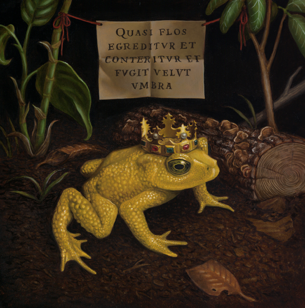 The Golden Toad:  New Paintings by Madeline von Foerster
