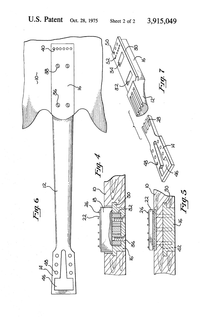 Travis Bean patent application pt 2