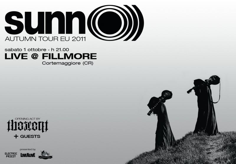 SUNN O))) Bologna 1st October venue change