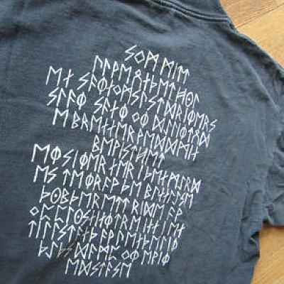rare BATHORY/DESCENT MAGAZINE shirt