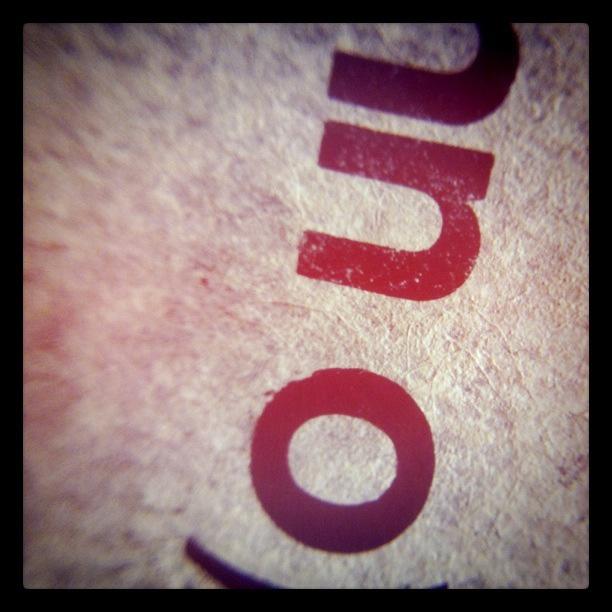 SUNN O))) Letraset