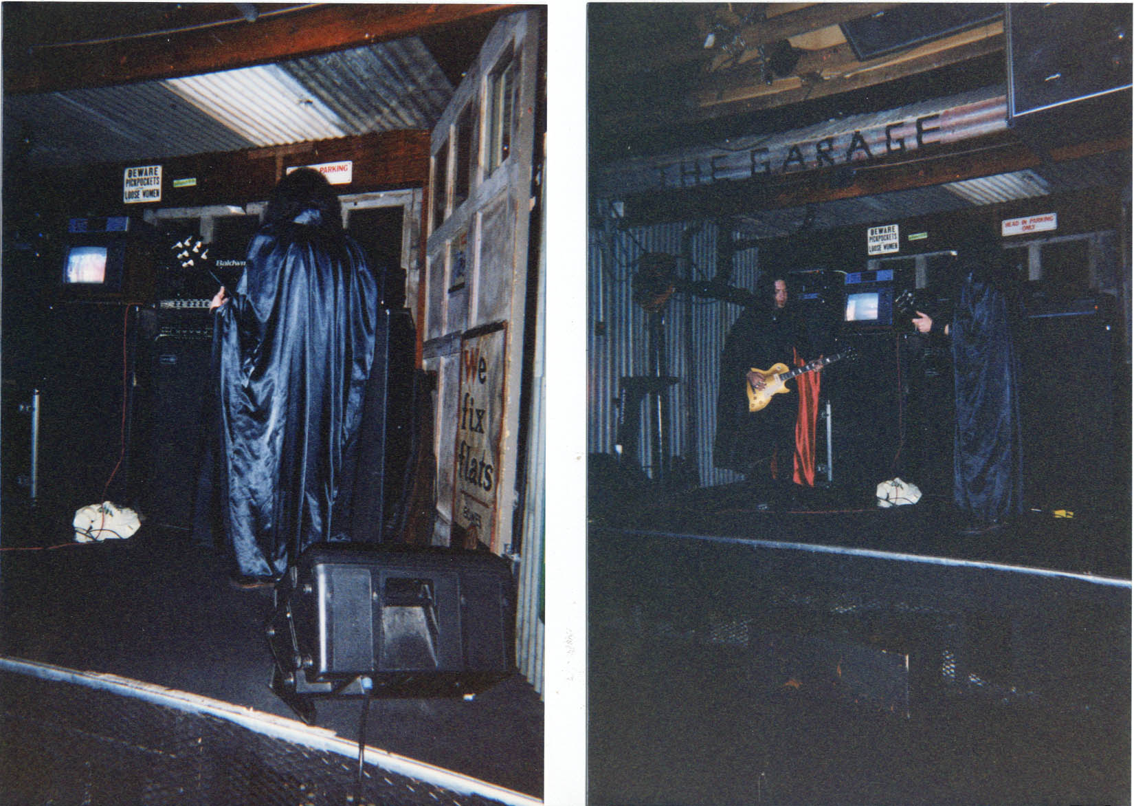 Photo of SUNN O)))s first show (Spring 1998) & TEETH OF LIONS RULE THE DIVINE session New Years Day 2002