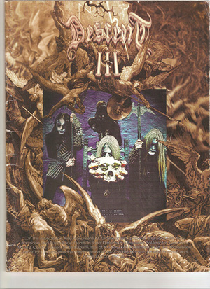 DESCENT MAGAZINE vol III (1996), Motörhead 1978 tour program, Bilibin portfolio, etc free downloads