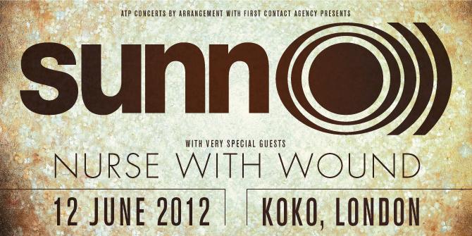SUNN O))) announce June 2012 UK/EU concerts