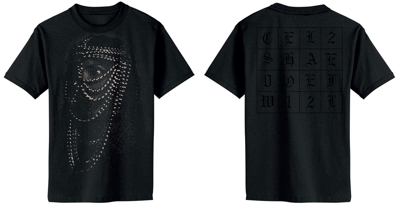 Chelsea Wolfe 2012 tour shirt design