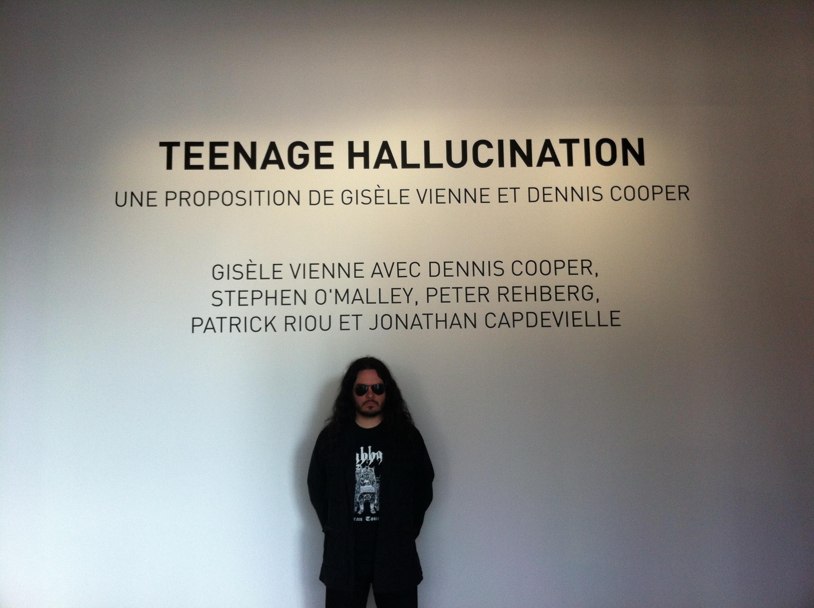 Attila Csihar & Stephen O'Malley @ Pompidou Wednesday 14th March