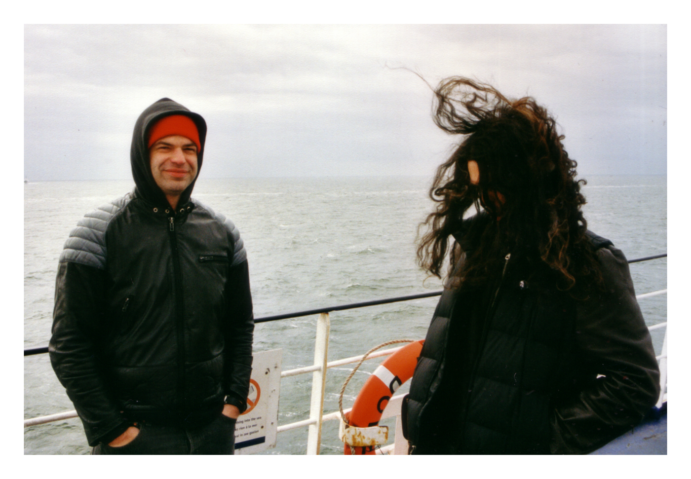 Joe Preston & SOMA on a Danish ferry 2003