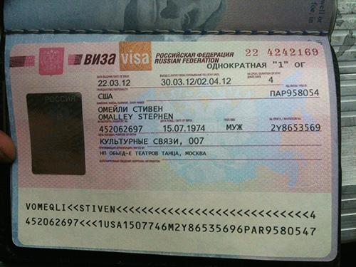 Russian Visa KTL