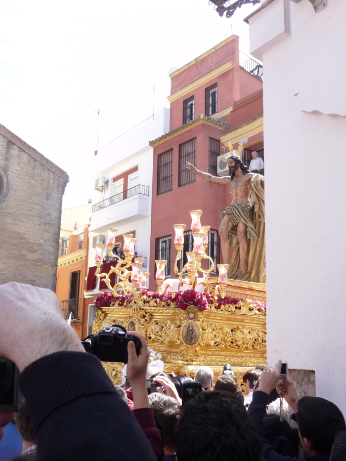 Semana Santa processions Seville 2012 evidence