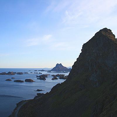 Lofoten night 1 & day 2: Moskenesøya and Vestvågøy