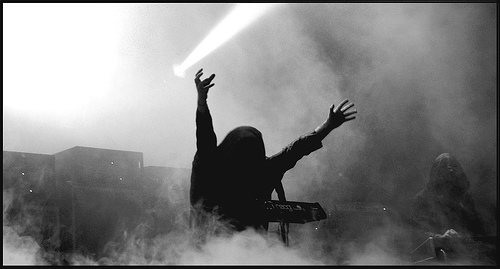 Pardon pour nos péchés, French Catholics against SUNN O))) (and other bands') performance at Hellfest