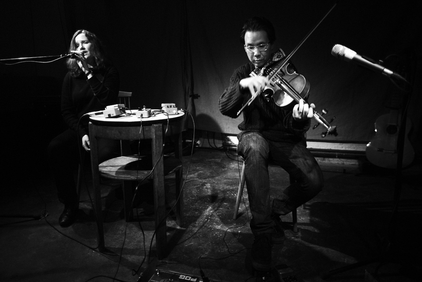 Jessika Kenney & Eyvind Kang live at The Stone in NYC 29th May