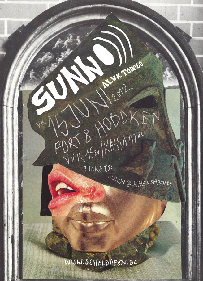 SUNN O))) Hoboken Fort8 flyer