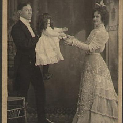 Vintage ventriloquism portraits
