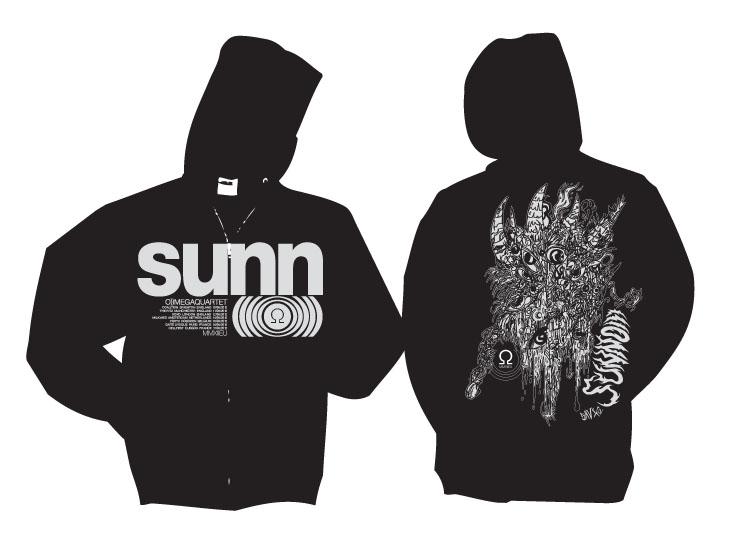 SUNN O))) June 2012 tour merchandise