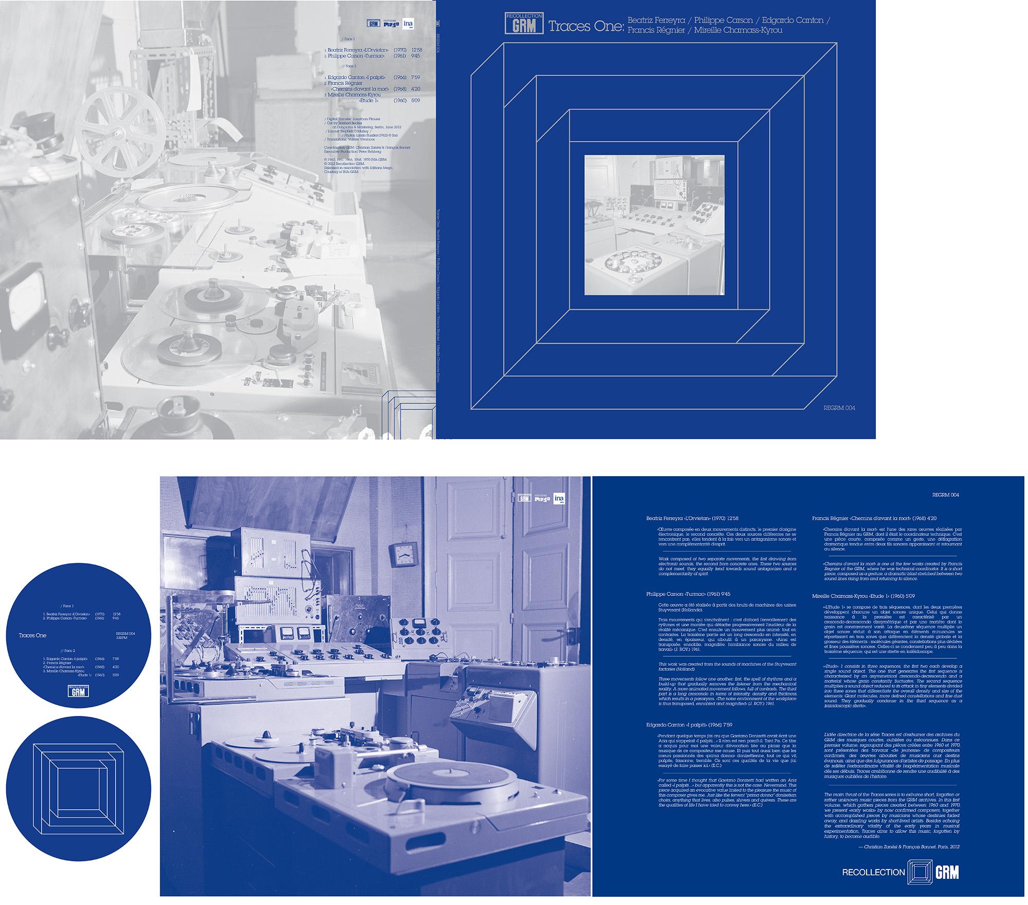 REGRM 004 Traces One LP design