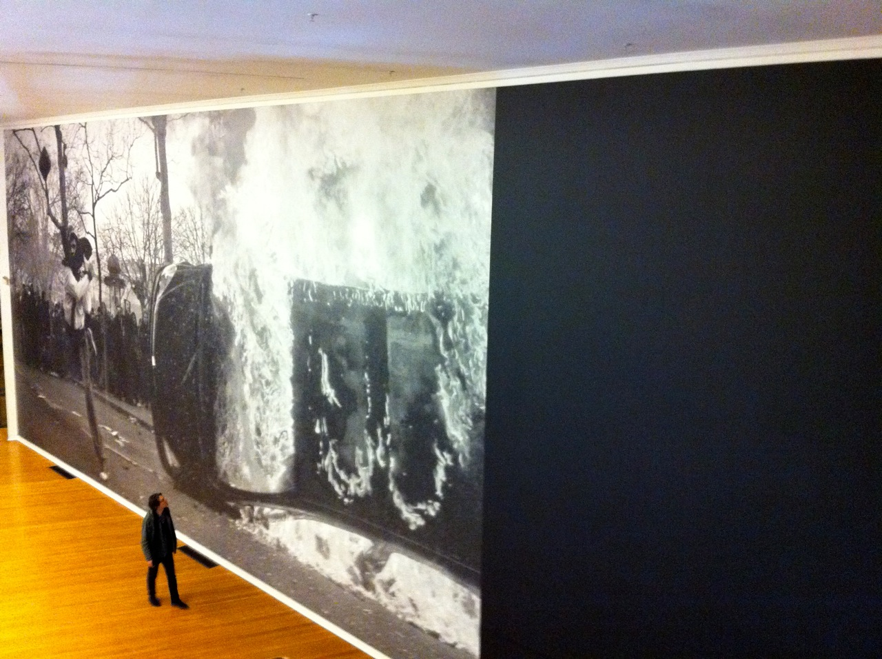 New large scale piece by Marco Fusinato
