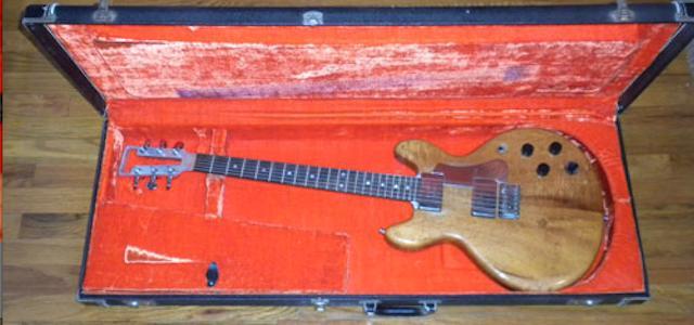 Travis Bean Guitar love and tragedy...