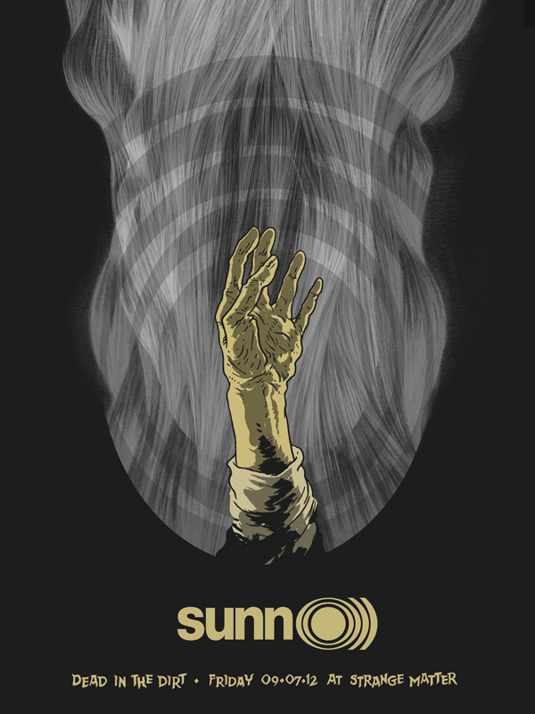 SUNN O))) at Strange Matter, Richmond poster