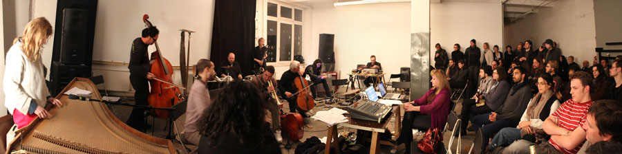 DUMITRESCU & AVRAM & HYPERION ENSEMBLE at NK Berlin, November 2011 1st day photos