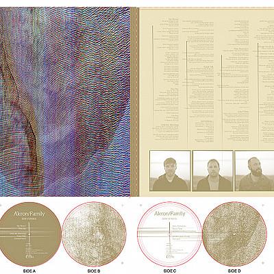 design for new AKRON / FAMILY album