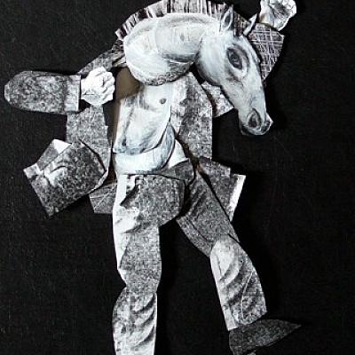 "Clive Hicks-Jenkins ""maquettes"""