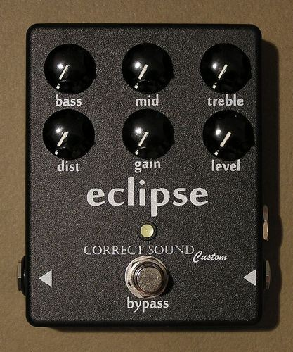 CORRECT SOUND Bass and Guitar preamp ECLIPSE (based on Concert Lead)