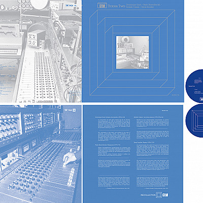 REGRM 007 (Xenakis electronics) & 008 (Traces Two compilation) designs