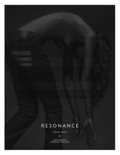 RESONANCE collaboration with ANTI Denim of Norway, first images...