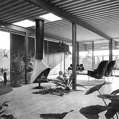"""People in Glass Houses: The Legacy of Joseph Eichler"" film. How many of you grew up in one of these?"
