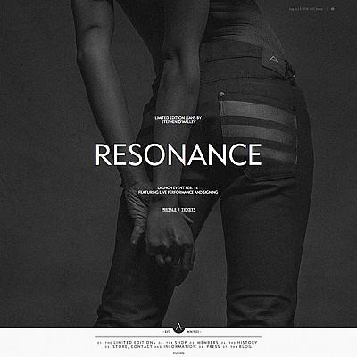 ANTI denim | RESONANCE | images