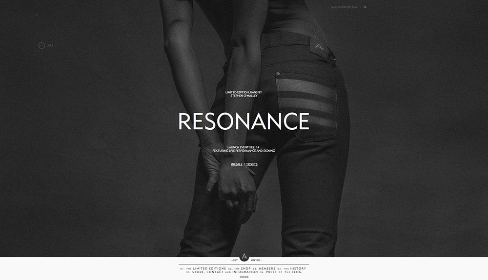 ANTI denim   RESONANCE   images