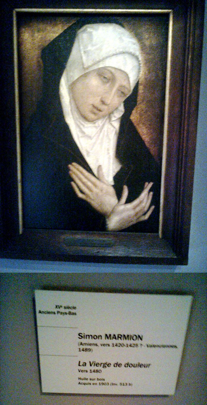 WOLD test pressing in Bruges + La Vierge de douleur en Strasbourg