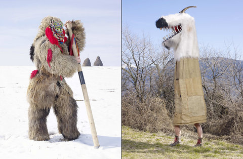 Where the Wild Things Are / Europe's Wild Men / Charles Fréger photographs