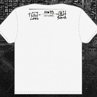 SUNN O))) February 2013 tour shirt remainders now on sale at DAYAFTERPRINTS