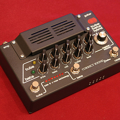 Correct Sound Tube Beta Hybrid custom guitar preamplifier unit