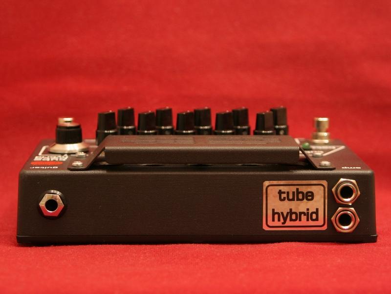 Correct Sound Tube Beta Hybrid custom guitar preamplifier unit