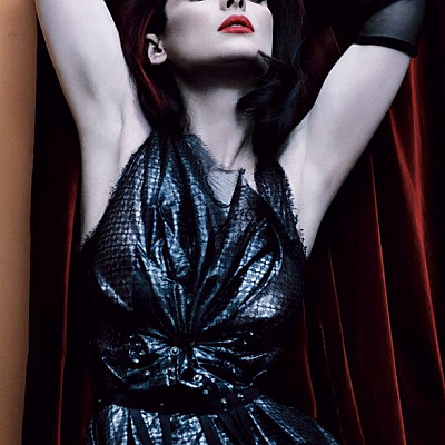 Winona Ryder defines classic beauty in Giorgio Armani on the May 2013 cover of @interviewmag