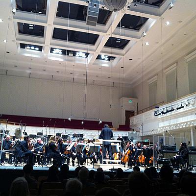 "TECTONICS GLASGOW 2013 / BBC Scottish Symphony orchestra / LUCIER ""Criss-Cross"" / DUMITRESCU ""Elan & Permanence"" / AVRAM ""Metalstorm"" (II) evidence"