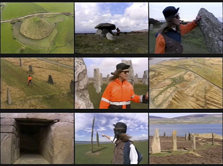 "{ feuilleton } Julian Cope ""The Modern Antiquarian"" 2000 on BBC TV"