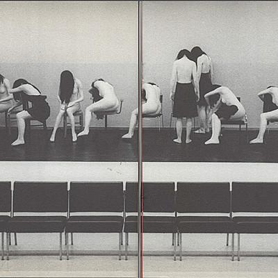 """Gisèle Vienne & Etienne Bideau-Rey """"corps/objet"""" 2001 fanzines downloads available"""