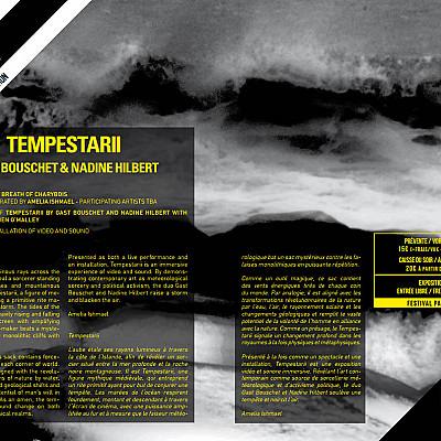 TEMPESTARII film by Gast Bouschet & Nadine Hilbert