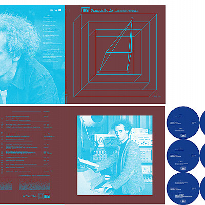 New designs for REGRM (Bayle 3LP) & Black Truffle (Ambarchi & Tilbury LP)