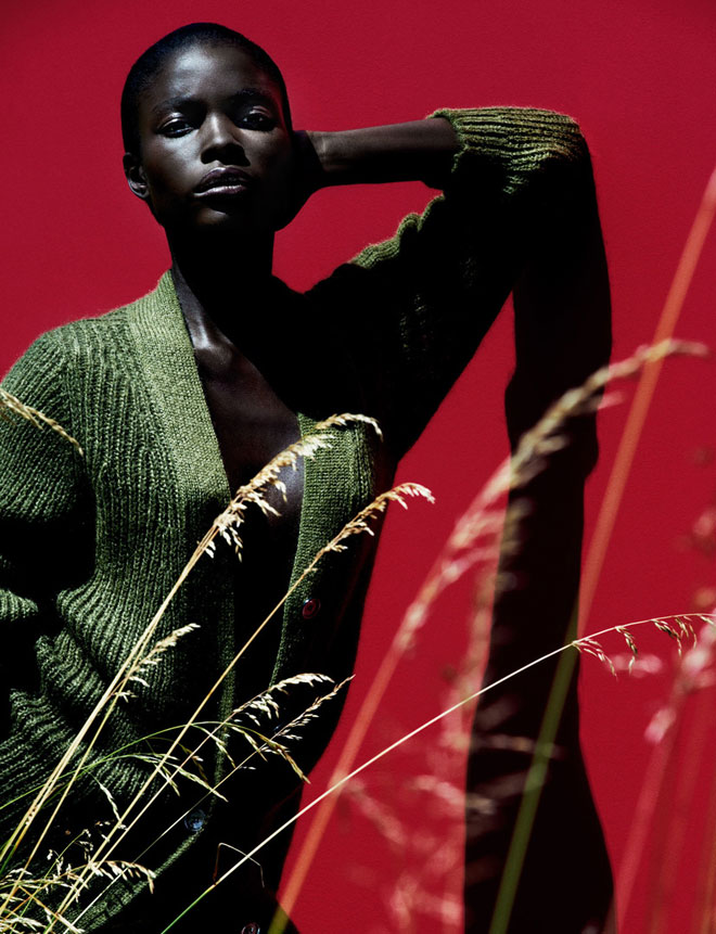 EYE CANDY: Jeneil Williams for Vogue Germany