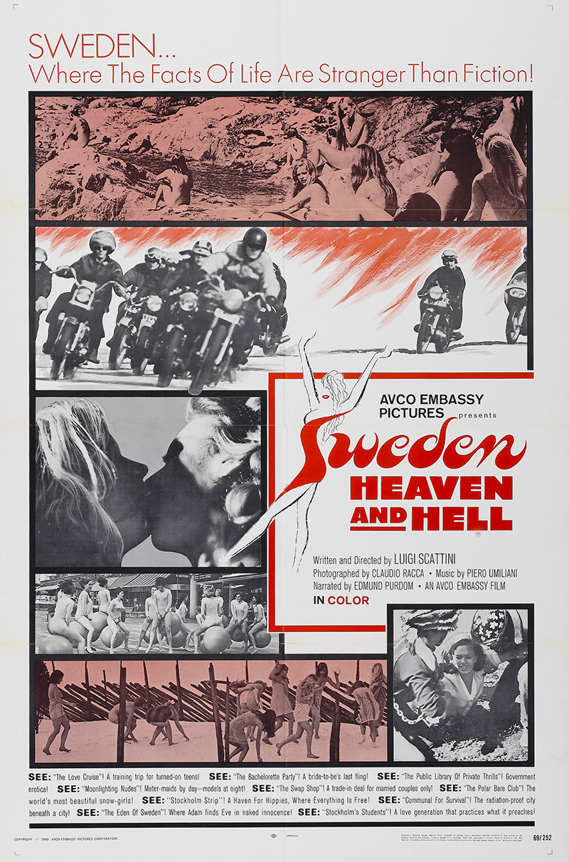 """Sweden: HEAVEN & HELL"" (1968) trailer"