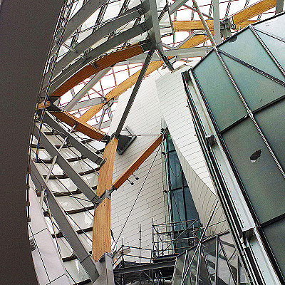 Visit to Frank Gehry Louis Vuitton Foundation for Creation Bois de Boulogne